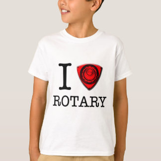I love Rotary Engine Tee Shirt
