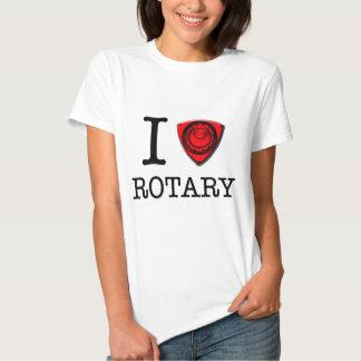 I love Rotary Engine Tshirt