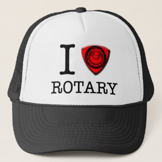 I love Rotary Trucker Hat