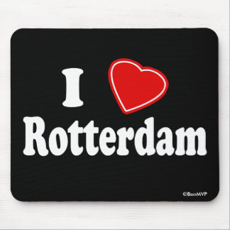 I Love Rotterdam Mouse Pad