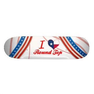 I Love Round Top Texas Skate Board Decks