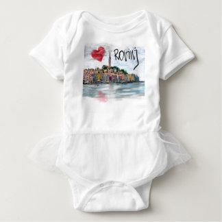 I love Rovinj Baby Bodysuit