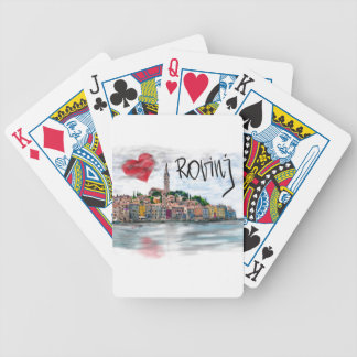 I love Rovinj Bicycle Playing Cards