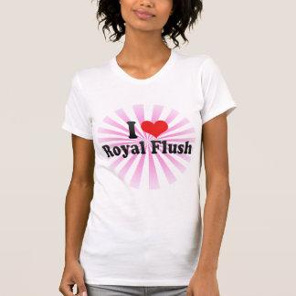 I Love Royal Flush T-shirts