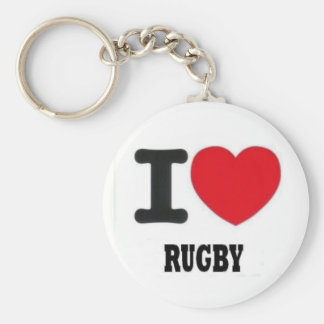i love rugby2 key ring