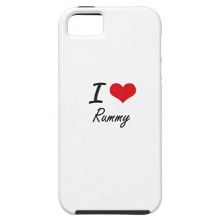 I Love Rummy iPhone 5 Cases