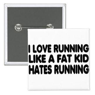 I Love Running Pins