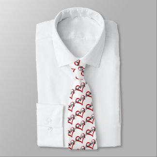 I Love Running Tie