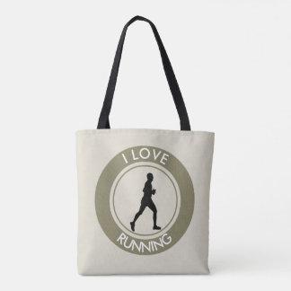 I LOVERUNNING TOTE BAG