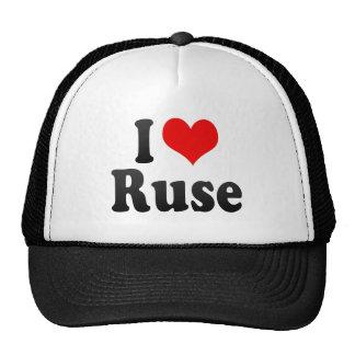 I Love Ruse, Bulgaria Cap