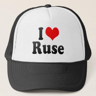 I Love Ruse, Bulgaria Trucker Hat