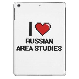 I Love Russian Area Studies Digital Design iPad Air Covers