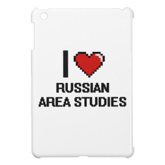 I Love Russian Area Studies Digital Design iPad Mini Cases