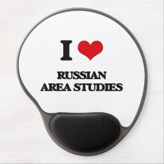 I Love Russian Area Studies Gel Mouse Pad