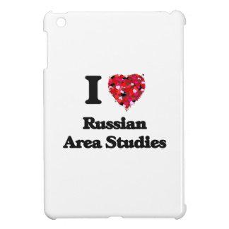 I Love Russian Area Studies iPad Mini Cover