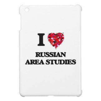 I Love Russian Area Studies iPad Mini Covers