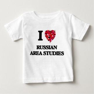 I Love Russian Area Studies T-shirt