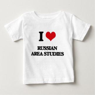 I Love Russian Area Studies Tshirts