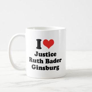 I LOVE RUTH BADER GINSBURG - .png Coffee Mug
