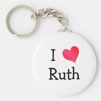 I Love Ruth Key Ring