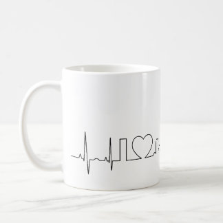 I love Sacramento in a extraordinary style Coffee Mug