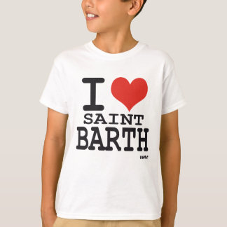 I love Saint Barth - St Barthelemy T-Shirt