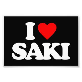 I LOVE SAKI ART PHOTO