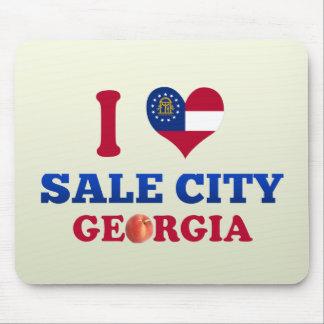 I Love Sale City, Georgia Mousepads