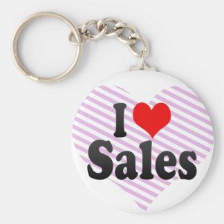 I love Sales Key Chain