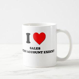 I Love Sales Promotion Account Executives Basic White Mug
