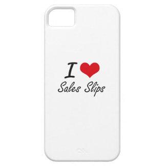 I Love Sales Slips iPhone 5 Cases
