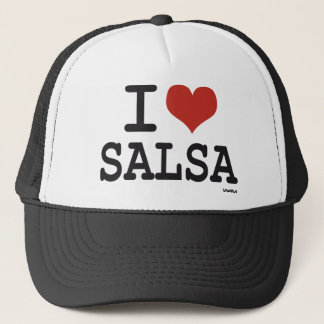 I love Salsa Trucker Hat