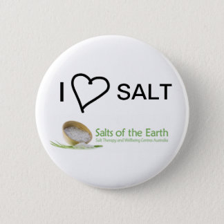 I Love Salt Button