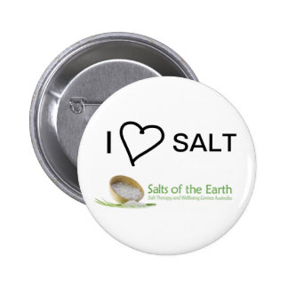 I Love Salt Button