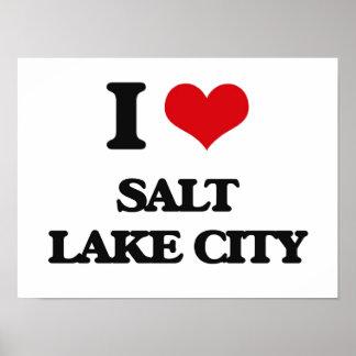 I love Salt Lake City Print