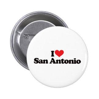 I Love San Antonio Pin