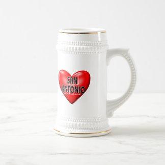 I Love San Antonio Coffee Mug