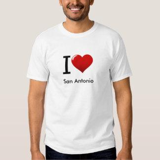 I Love, San Antonio Tees