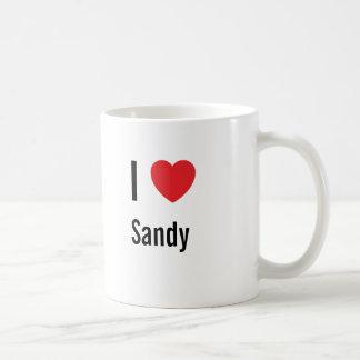 I love Sandy Coffee Mug