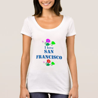I love SanFRANCISCO San Francisco America USA T-Shirt