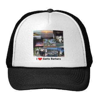 i love santa barbara.png hats