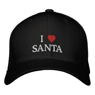 I Love Santa Baseball Cap