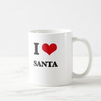 I Love Santa Coffee Mug