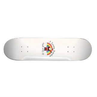 I love Santa deal with it Skateboards