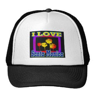 I LOVE Santa Monica Palm Trees in the Box Hat