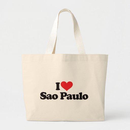 I Love Sao Paulo Tote Bag