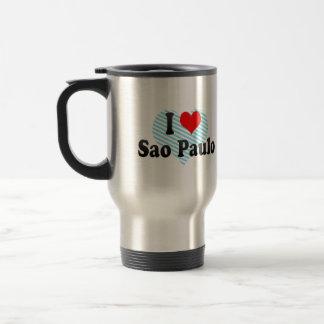 I Love Sao Paulo, Brazil Coffee Mugs