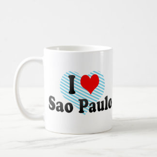 I Love Sao Paulo, Brazil Mug