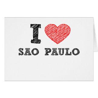 I Love Sao Paulo Greeting Card