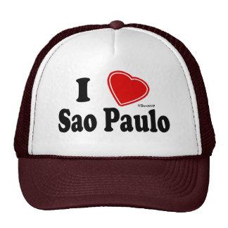 I Love Sao Paulo Mesh Hat